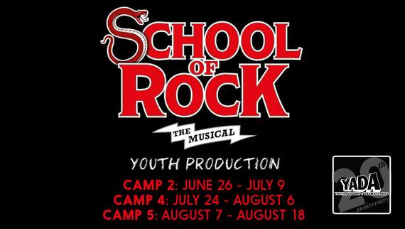 School of Rock Summer 2017 camp