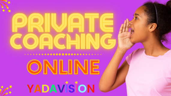 Slider for Online Private Coaching