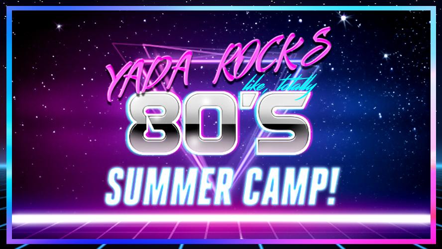 YADA Rocks 80's slider
