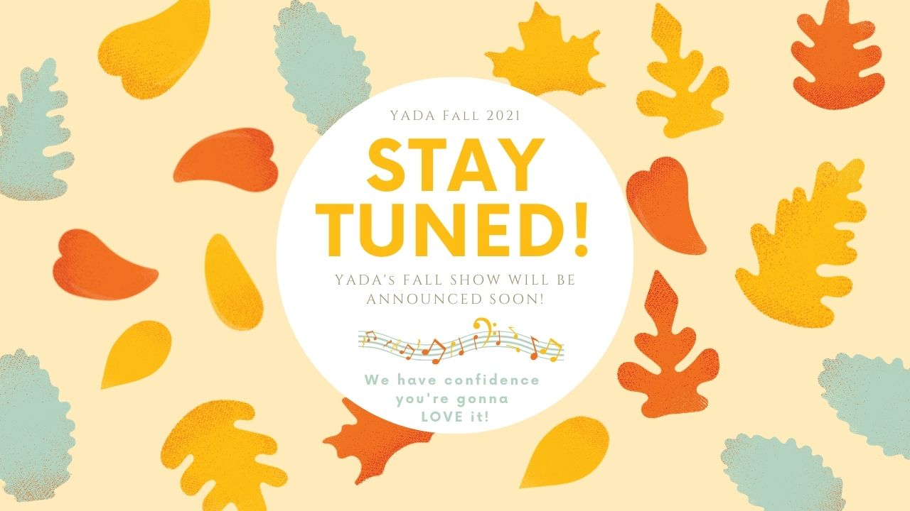 fall show announcement coming soon