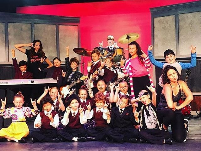 🤘BTW with the final #SchoolOfRock camp coming to a close don't forget that we will never stop rocking Also thank yo so much to our awesome directors!! #YADArocks