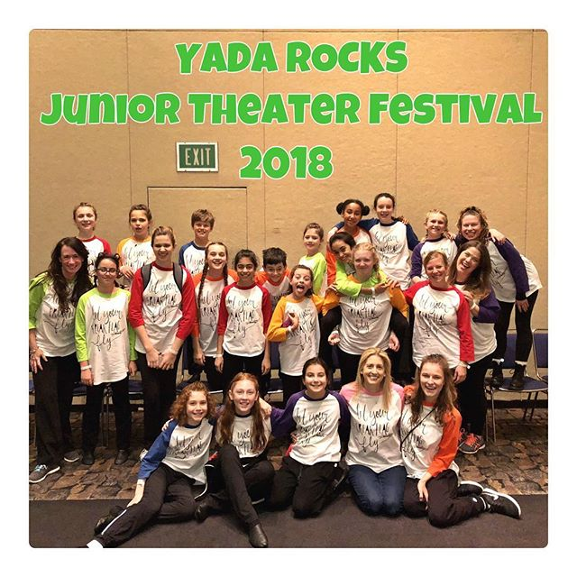 YADA rocked it at the Junior Theater Festival West!!! Great job to all the superstars and directors! #yadarocksla, #jtfwest, #letyourfreakflagfly