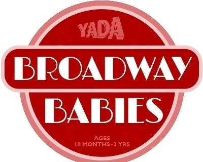NOW ENROLLING BROADWAY BABIES - Ages 18 months - 3 years $210 #YADA #Singing #Drama #CreativeArts #SummerCamp #DramaticArts #Kids #Fun #PerformingArts #DramaStudent #Musicals