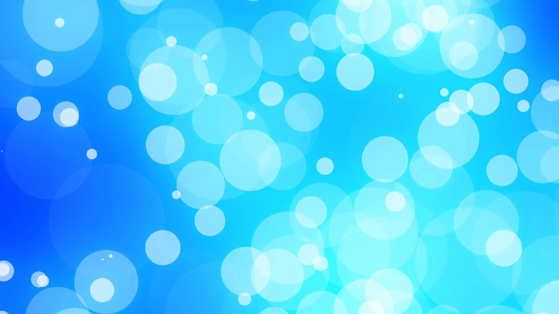 Light Blue Moving Circles Psychedelic Abstract Vj Background