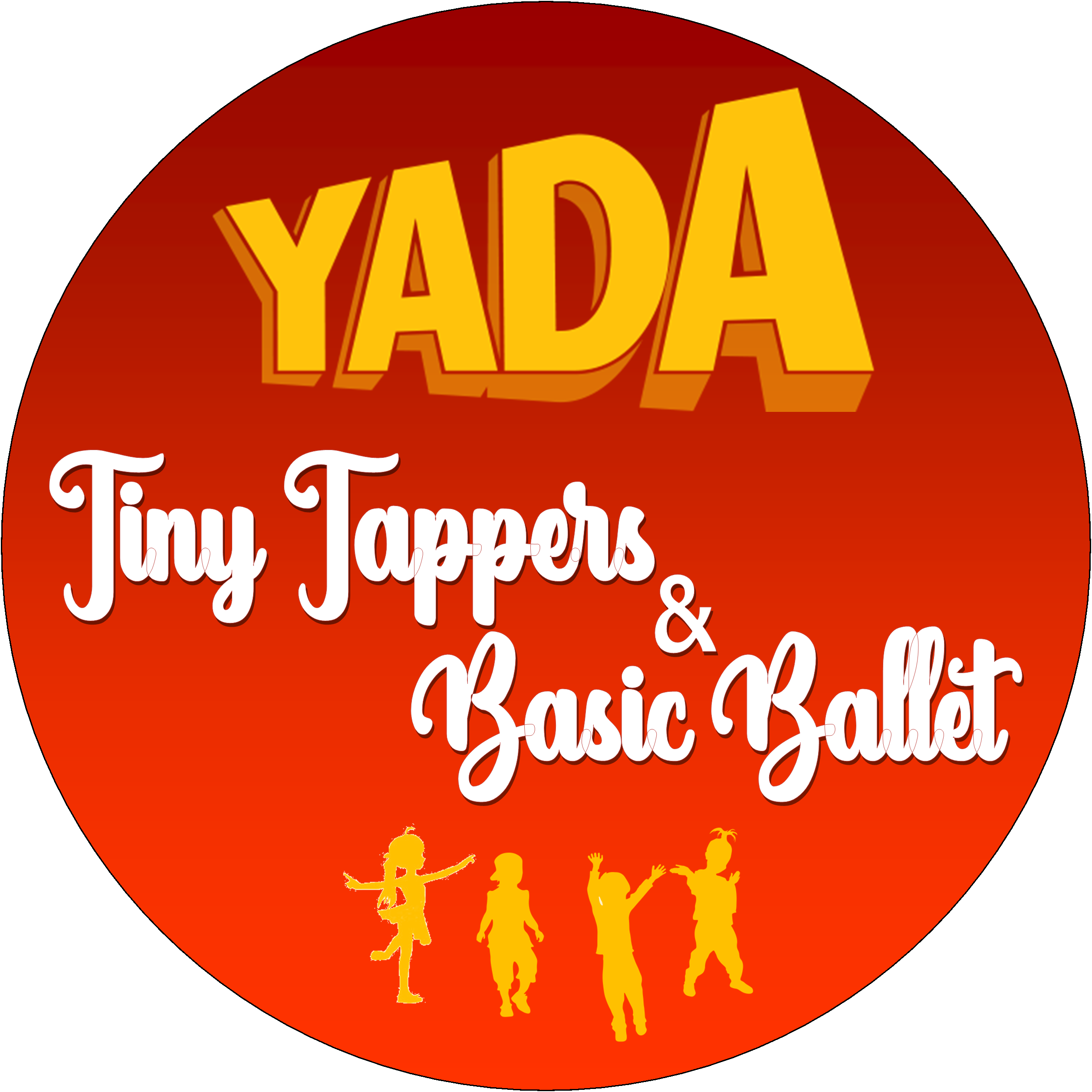 YADA Tiny Tappers and Basic Ballet no tag line logo